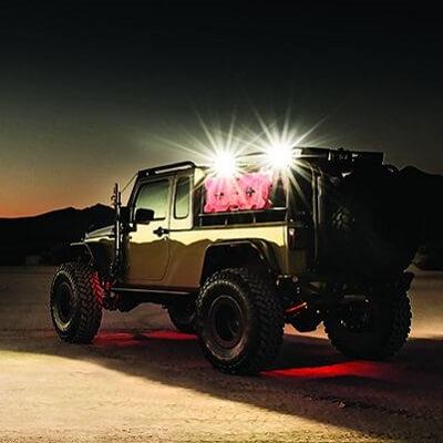 LED perimeter lights