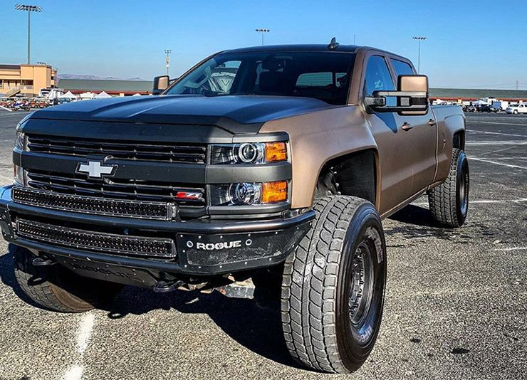 2015 Chevrolet 2500HD LML Turbodiesel Duramax lifted truck for sale small