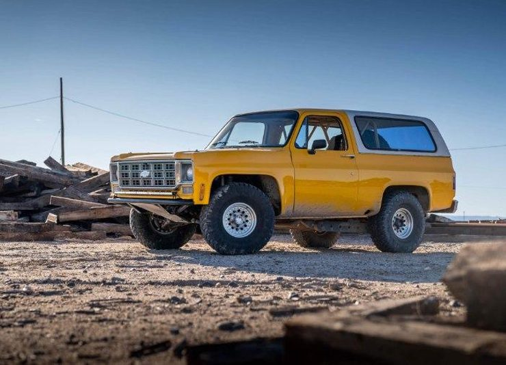 Square body chevy k5 blazer prerunner