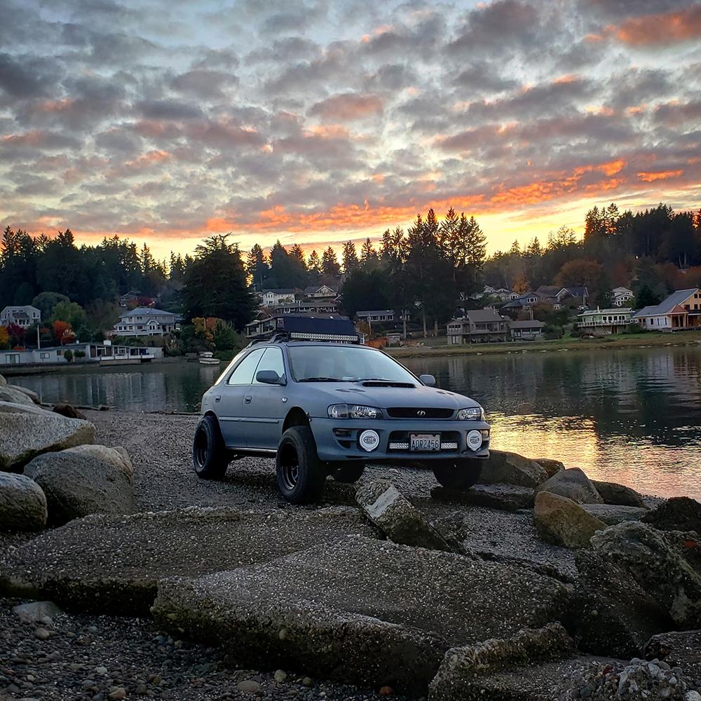 Subaru Impreza 225/75R15 offroad wheels & tires