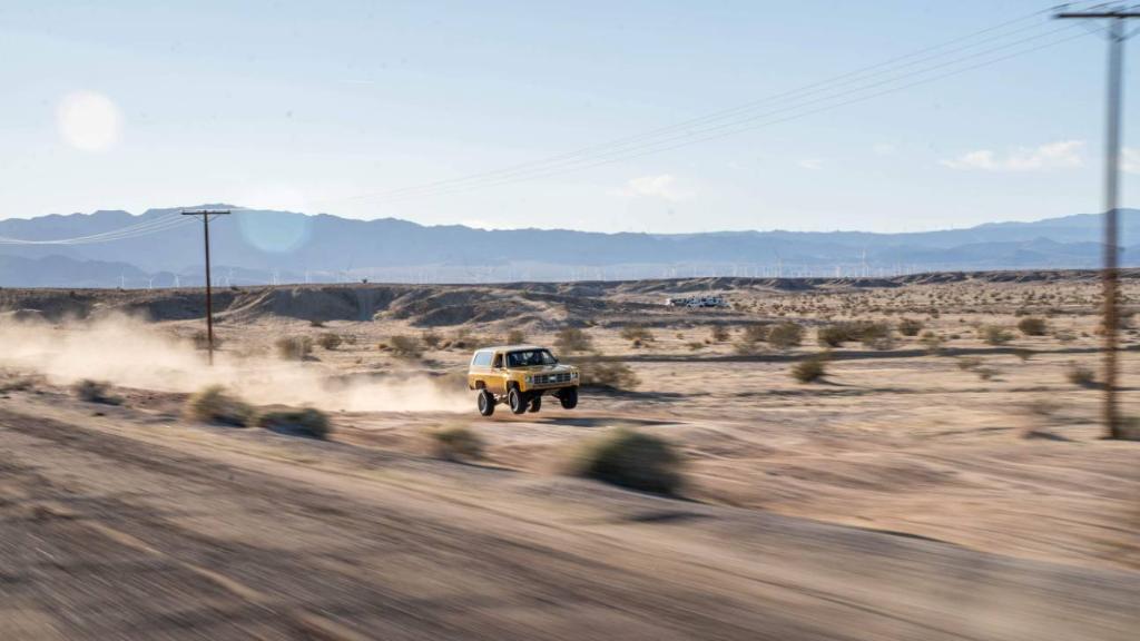 Chevy k5 Blazer prerunner - desert racing