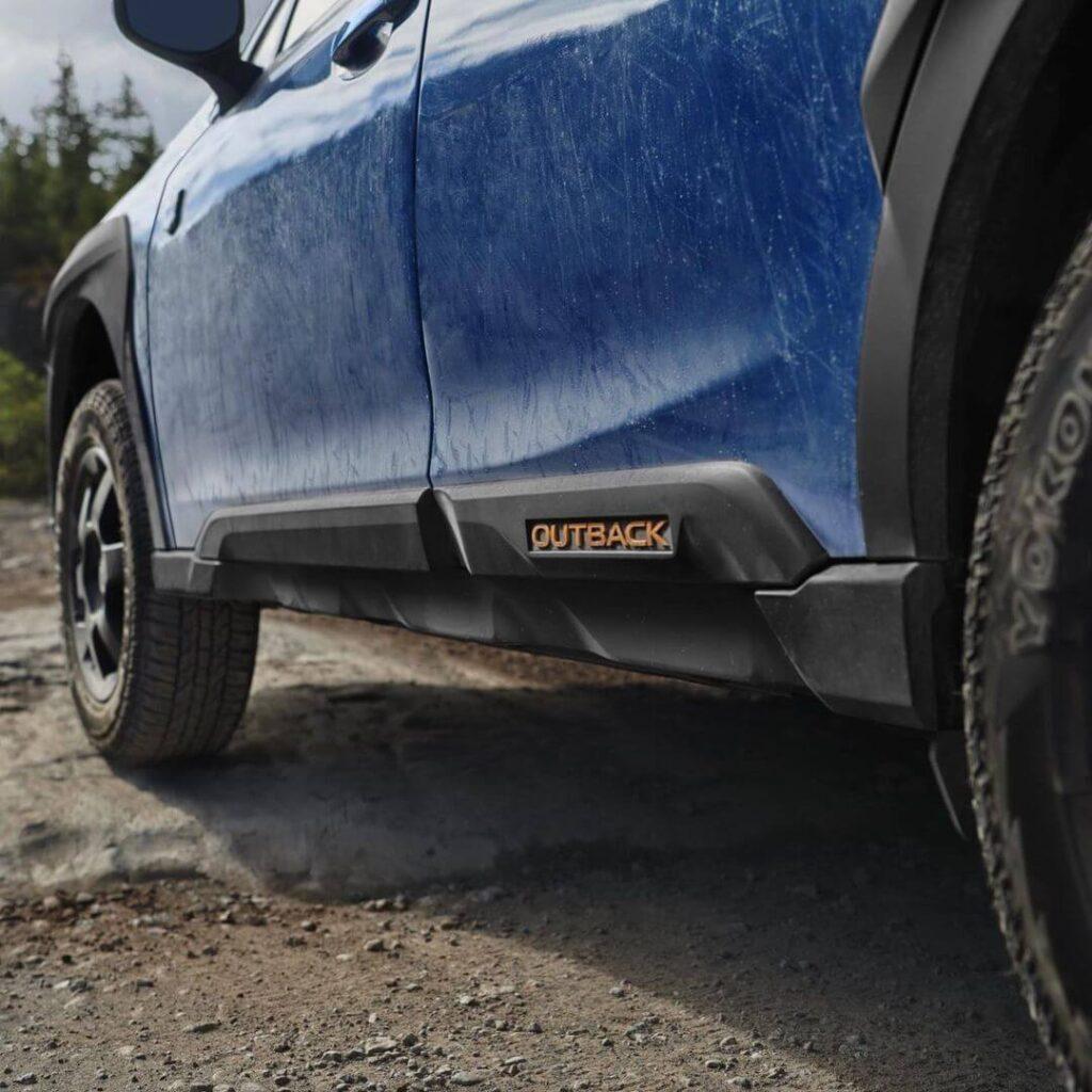2022 Subaru Outback Wilderness new body cladding