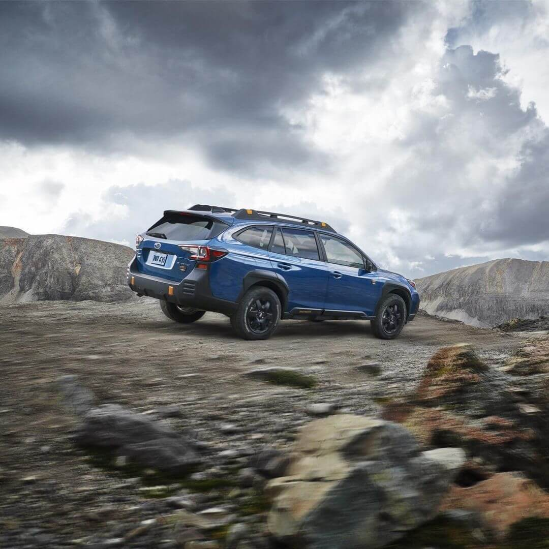 New Subaru Outback Wilderness with offroad mods