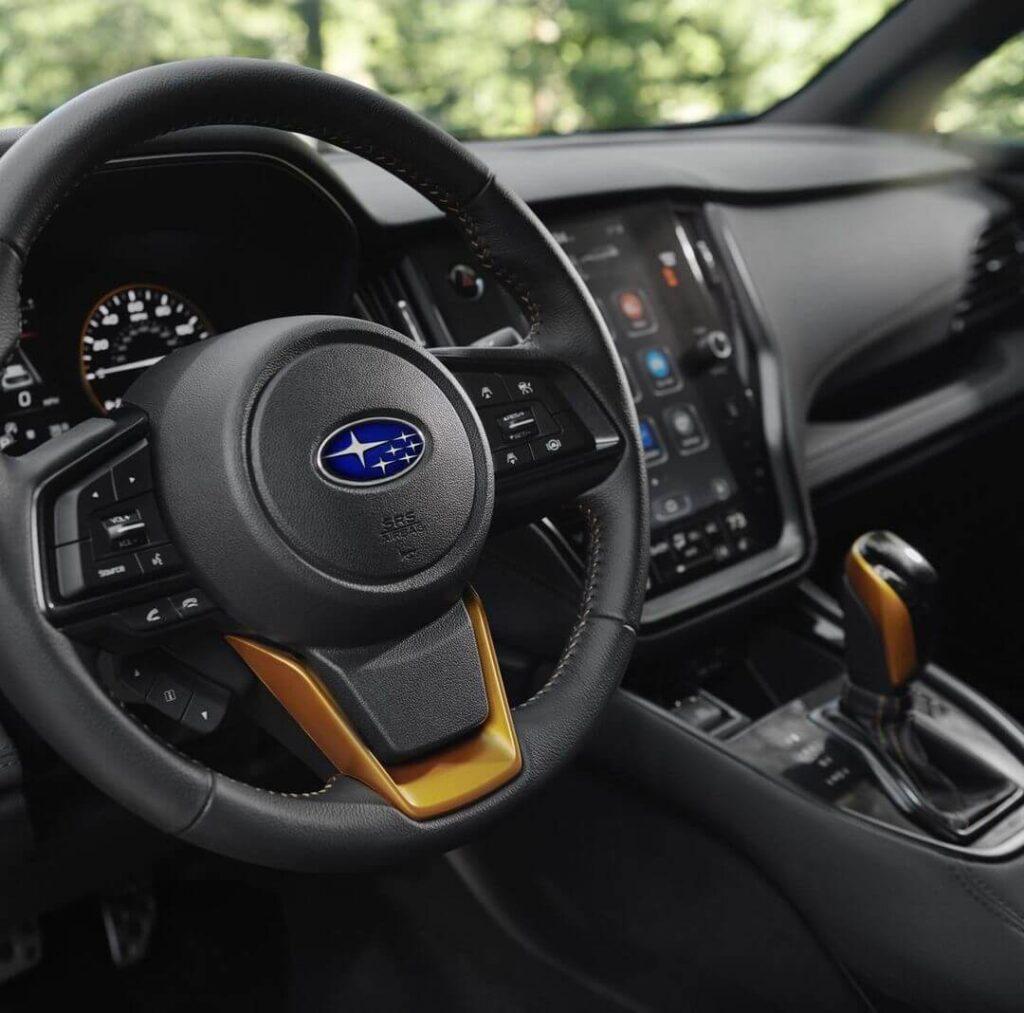 2022 Subaru Outback Wilderness Steering wheel
