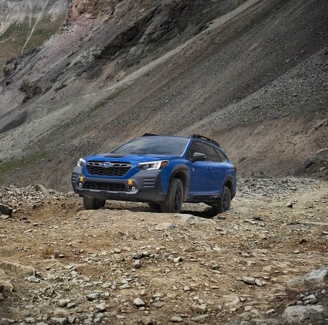 2022 Subaru Outback Wilderness Factory 1 Inch lift