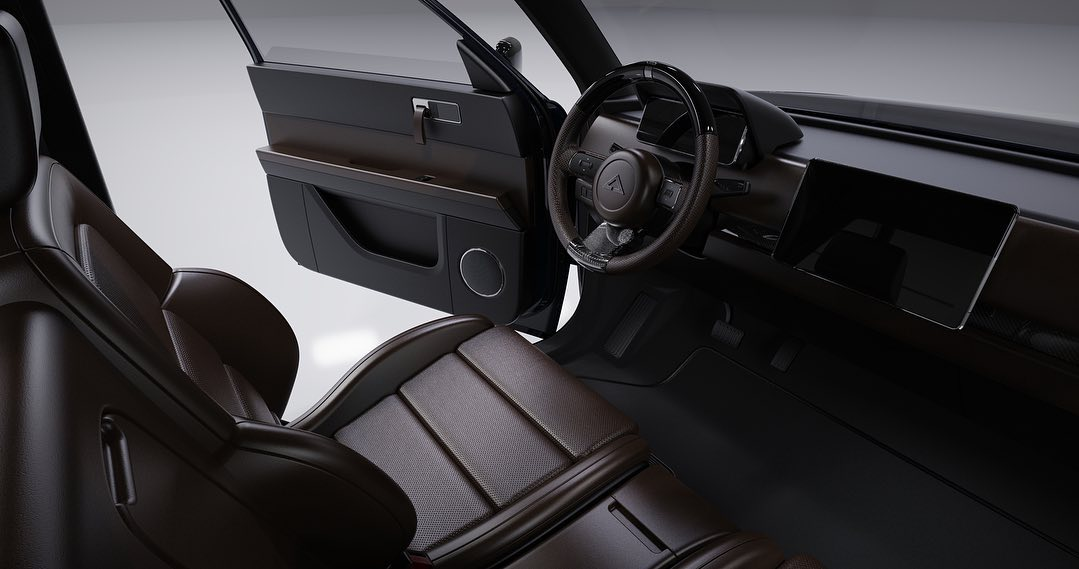 Alpha Motor Corporation WOLF Electric Truck Driver's seat