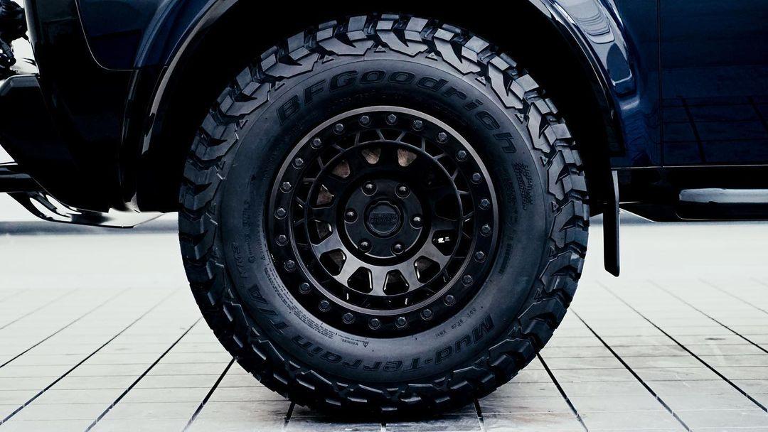 33 inch BFGoodrich mud tires
