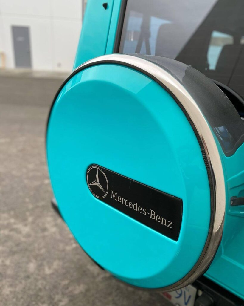 Mercedes spare tire cover