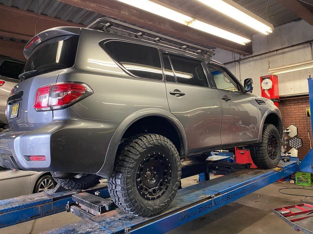 Nissan Armada 33 vs 35 inch tires