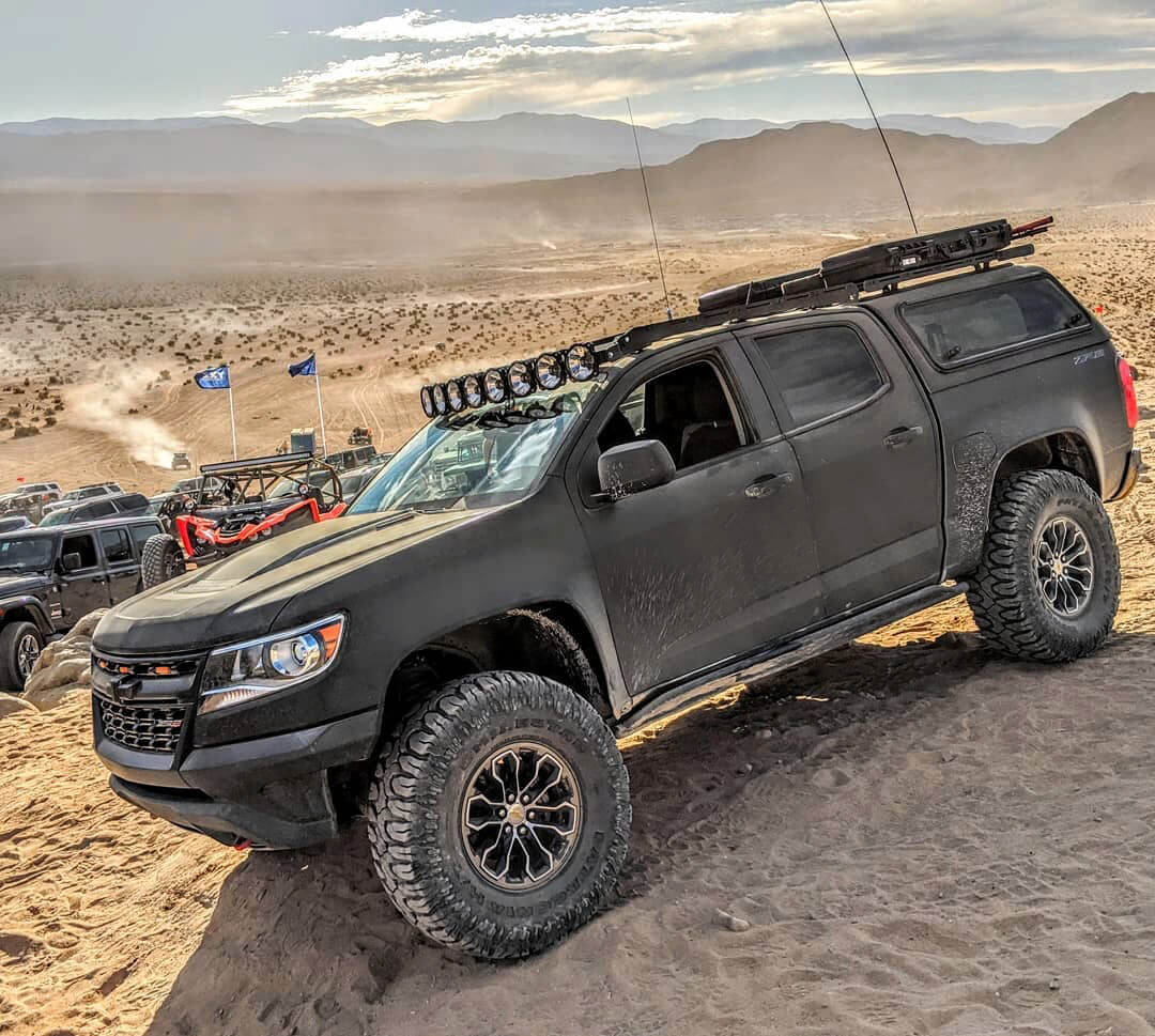 Chevy Colorado ZR2 off road in the desert