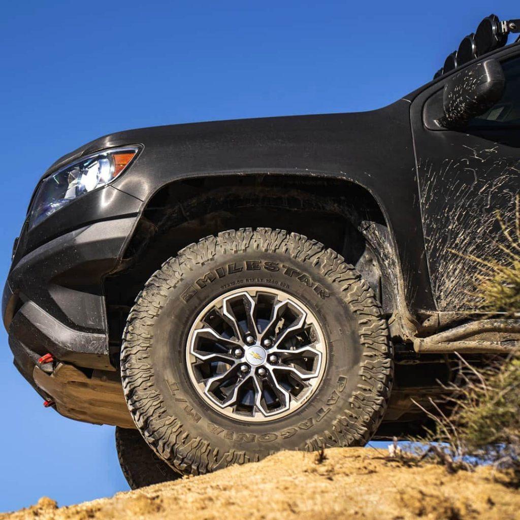 37×12.5 Patagonia milestar Mud Tires M/T