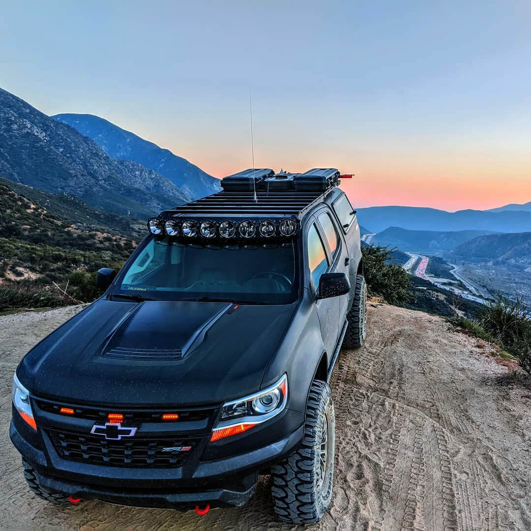Overland expedition truck