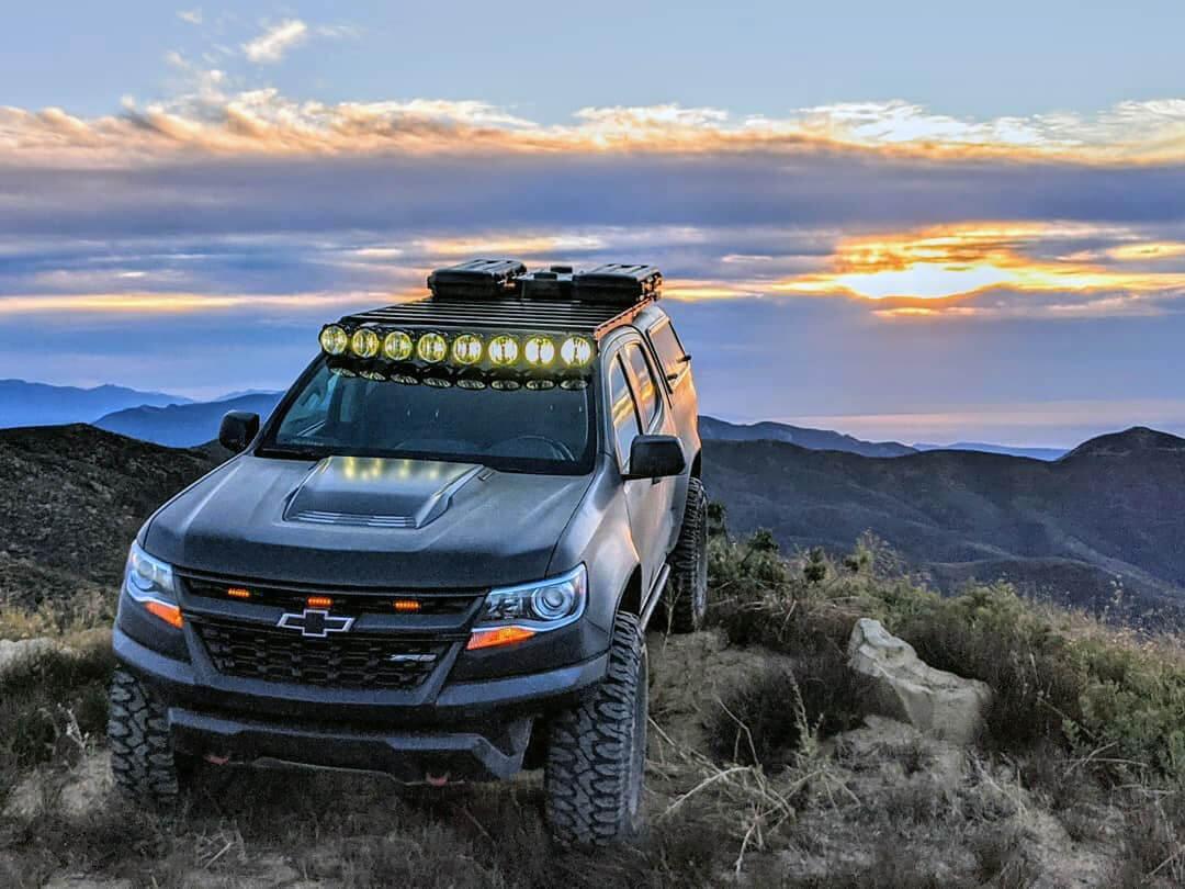 Lifted Chevy Colorado ZR2