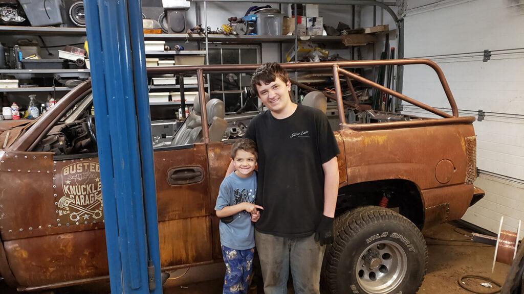 Busted knuckle garage