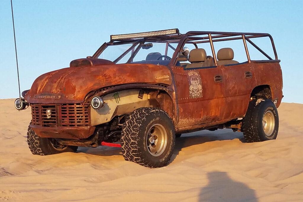 Chevy tahoe rat rod dune buggy