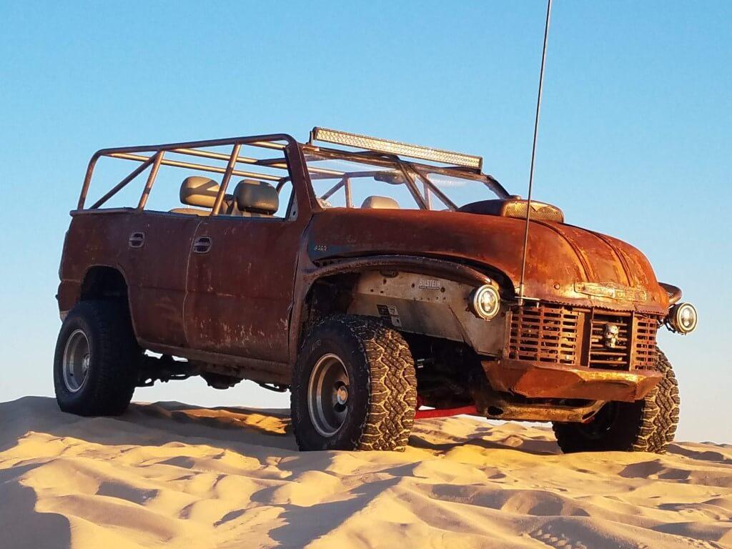 Dune buggy rat rod for desert