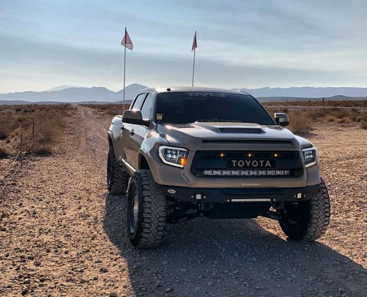 2017 Toyota Tundra Prerunner with long travel suspension by LSK