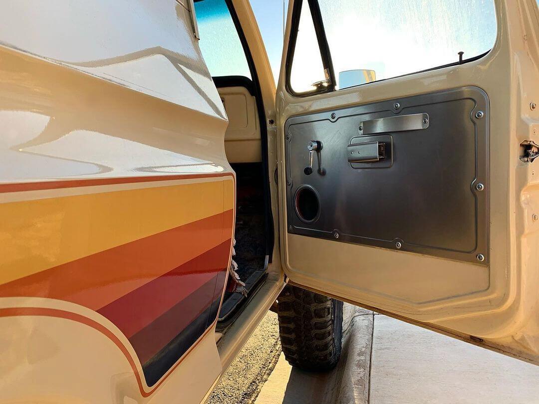 1978 Ford Bronco door panels