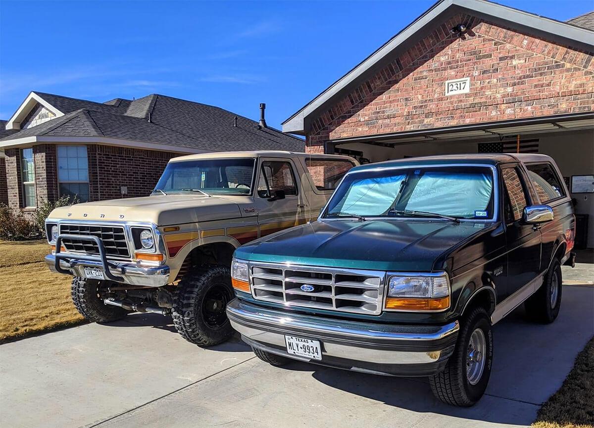 Full-Size Ford Bronco vs OBS Ford Bronco