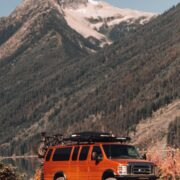 Ford E350 offroad adventures in Alaska