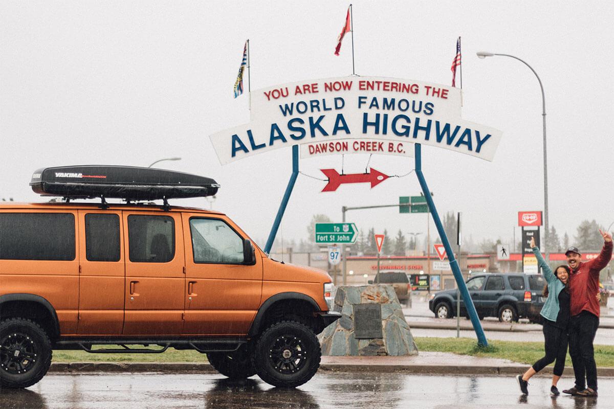 Exploring Alaska and vanlife