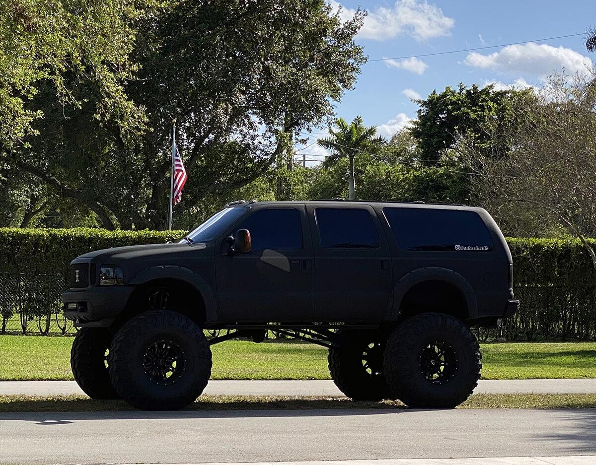 badass lifted trucks of Florida