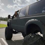Lady driven trucks