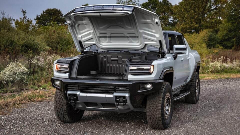 GMC Hummer EV front trunk - frunk