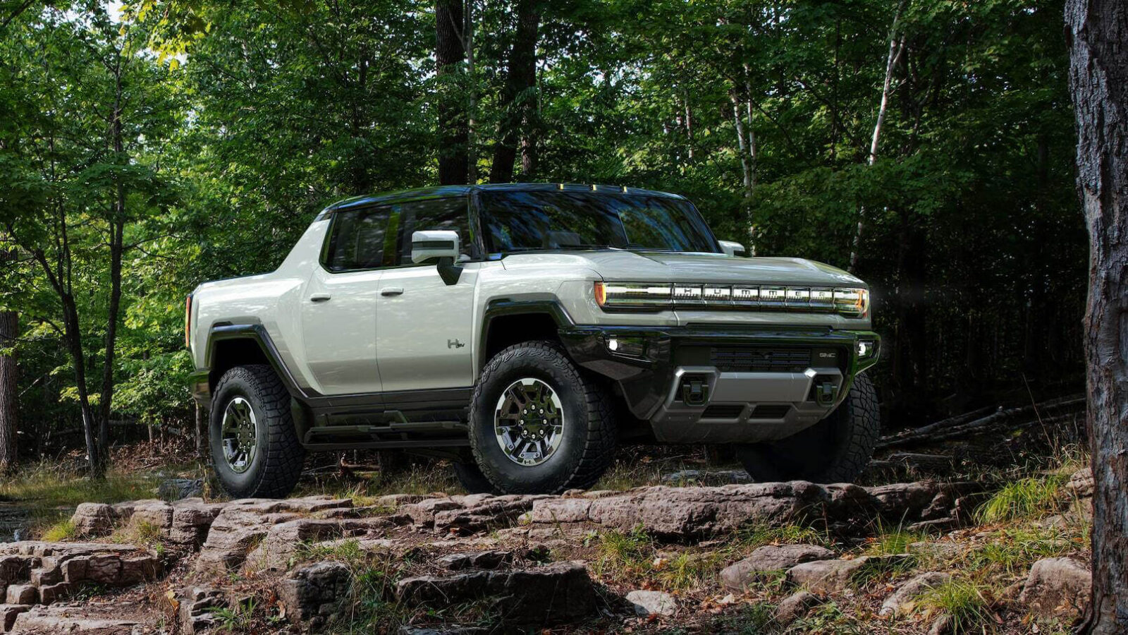 GMC Hummer EV lifted pickup truck