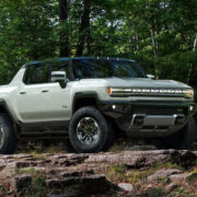 GMC Hummer EV lifted pickup truck
