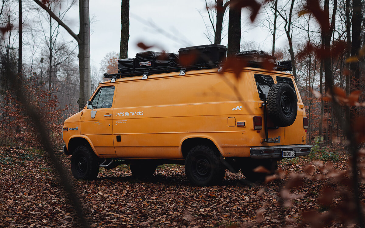 Badass GM and Chevy vans for overlanding