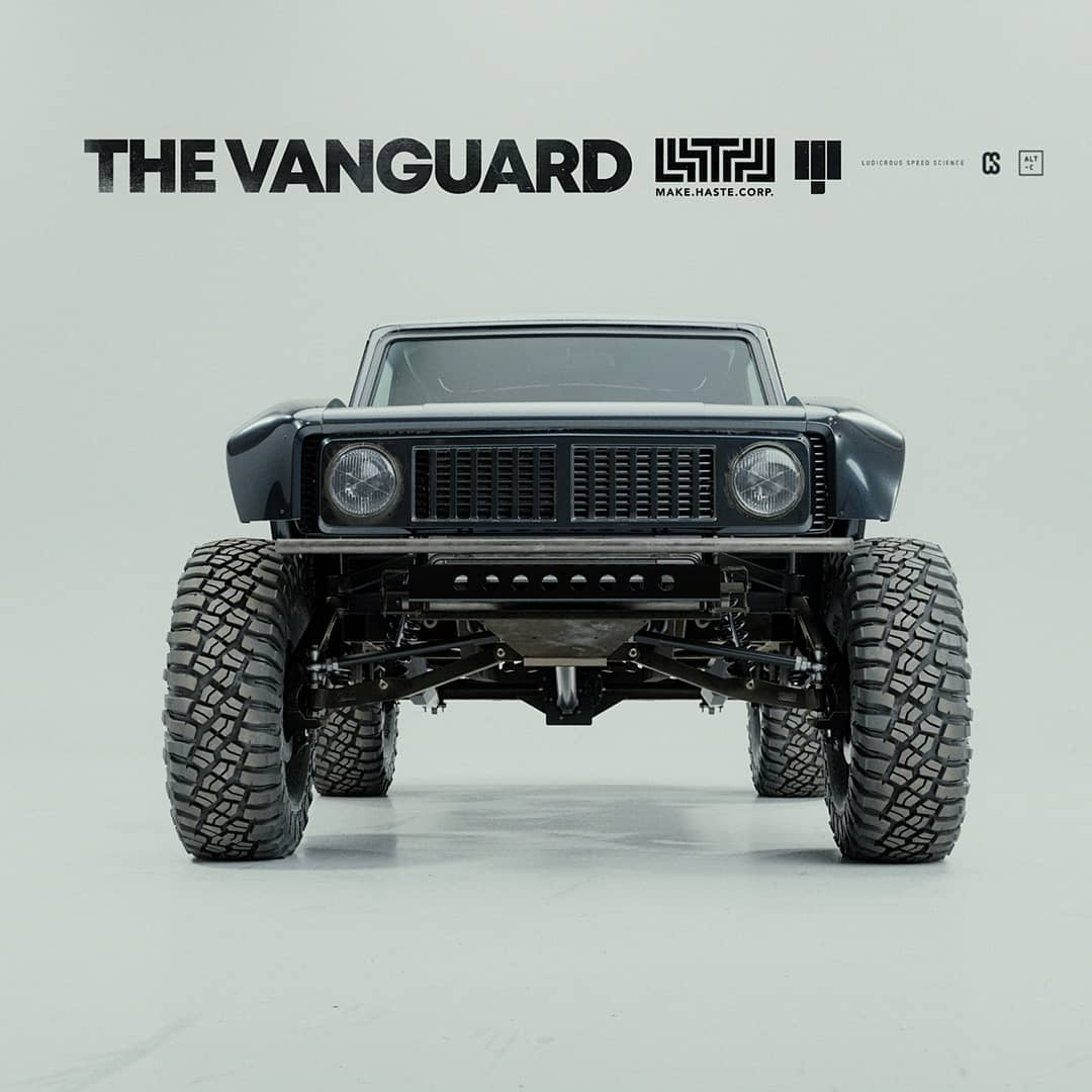 International Scout II prerunner The Vangance project