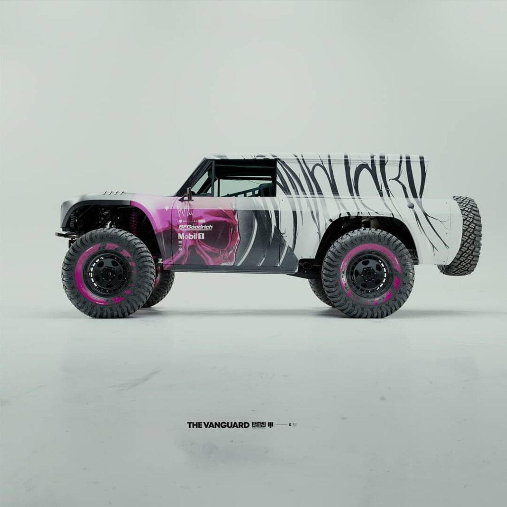 International Scout II prerunner rendering by Colorsponge white