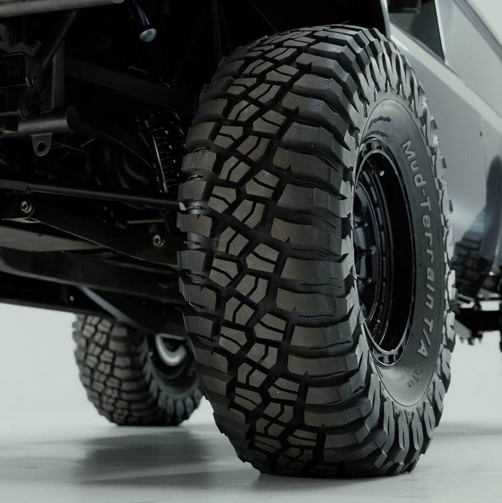 BF Goodrich mud terrain T/A tires