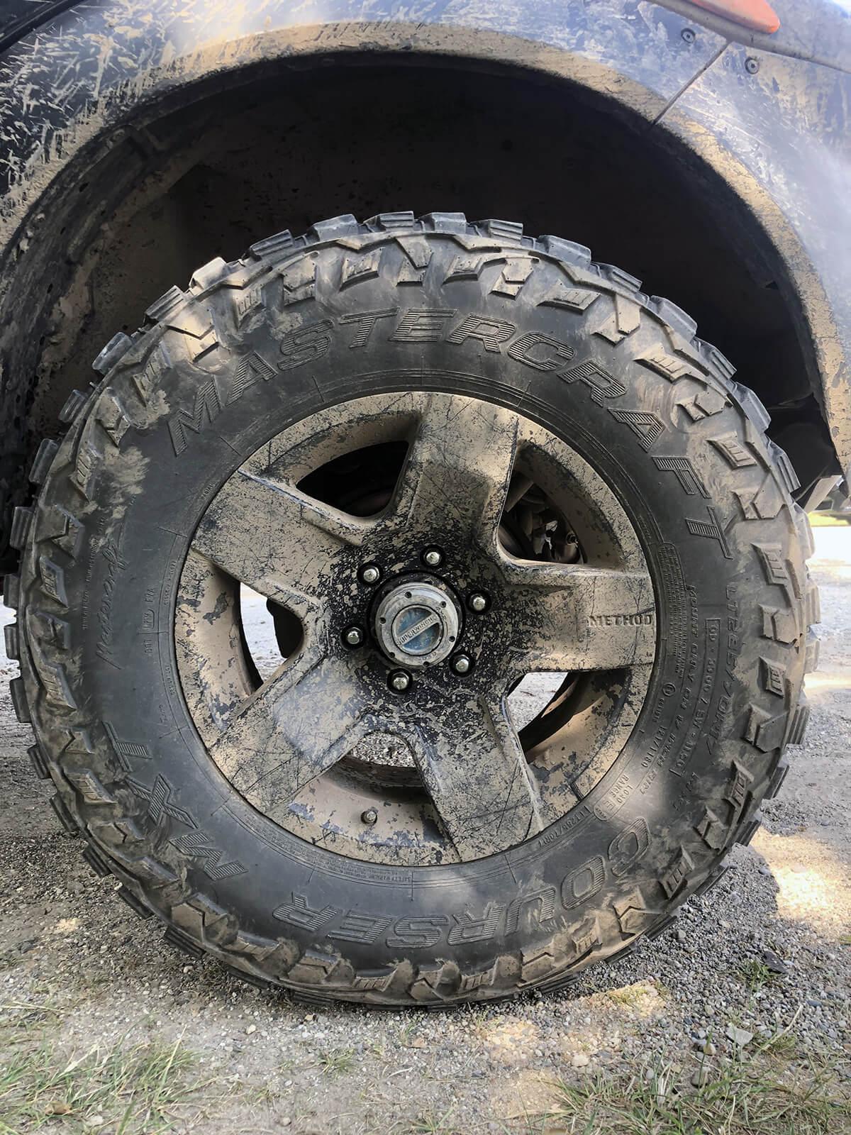 17×8.5 Method Fatfive wheels