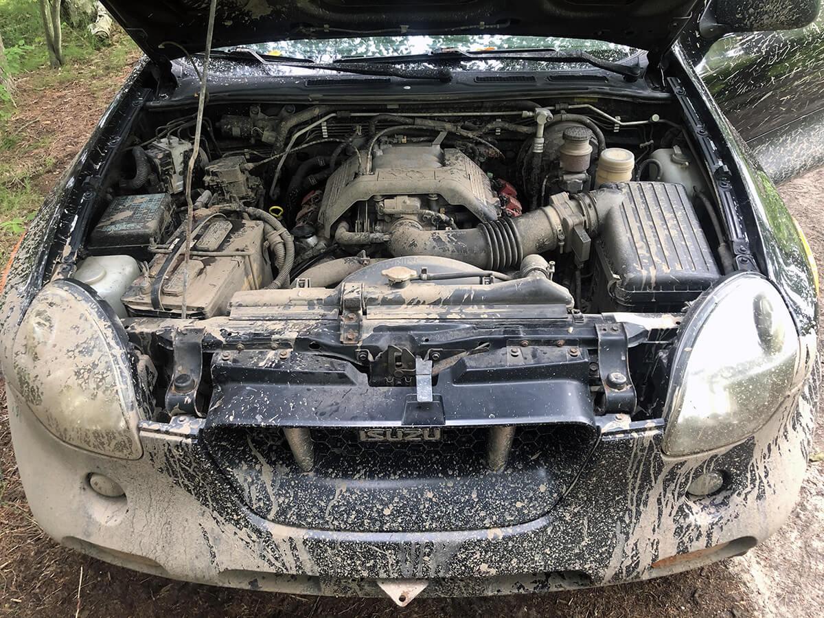isuzu vehicross 3.6L V6