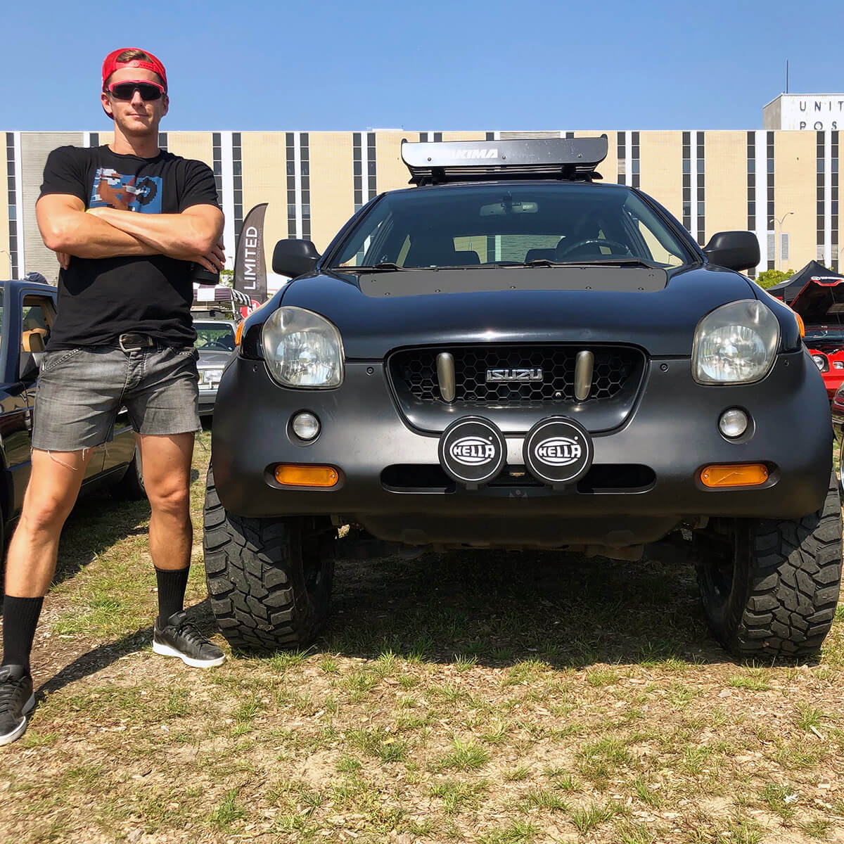 isuzu vehicross Hella off-road driving lights