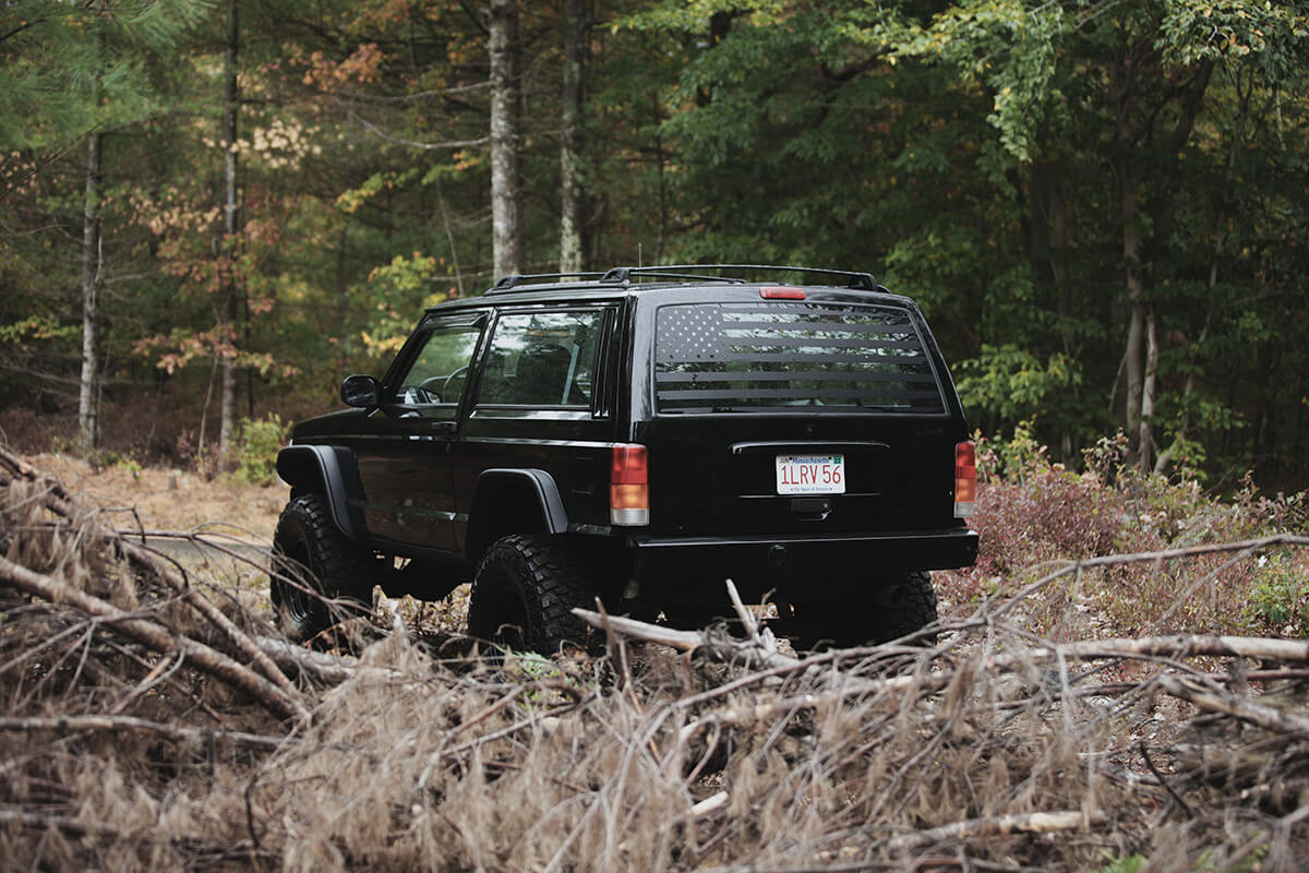 Jeep Cherokee XJ off-road and overland adventure project build
