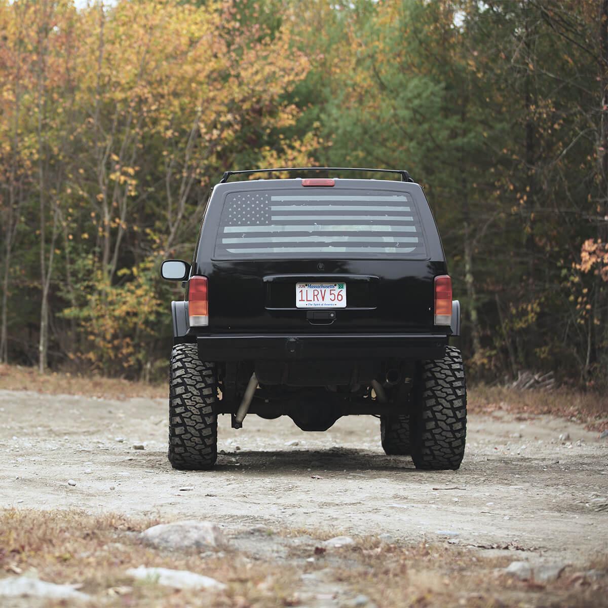 Jeep Cherokee XJ Ares Fabrication rear frame stiffeners