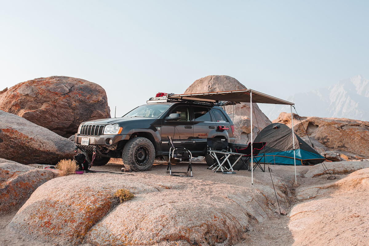 Jeep Grand Cherokee WK1 Overland Build project