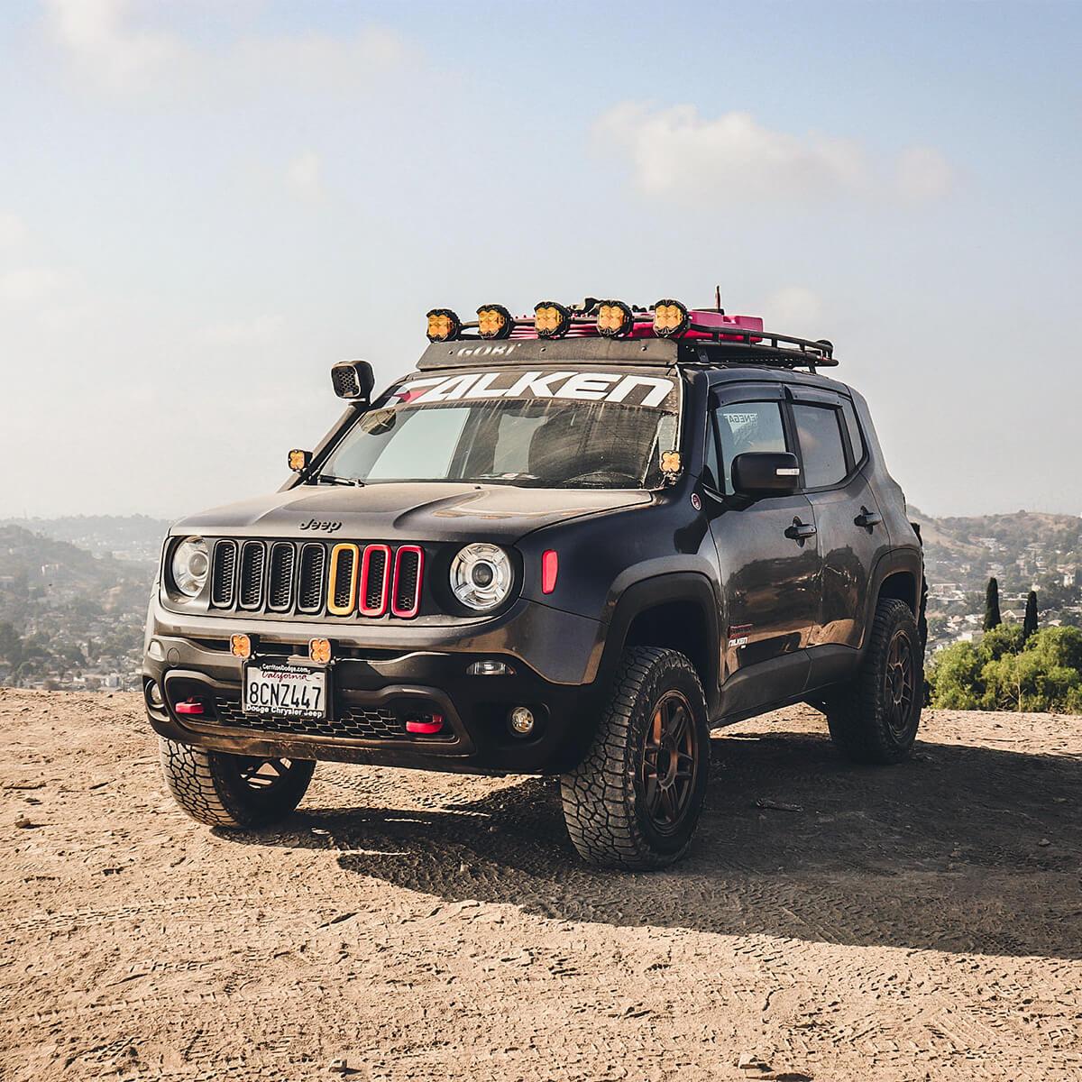Jeep Renegade Gobi roof rack