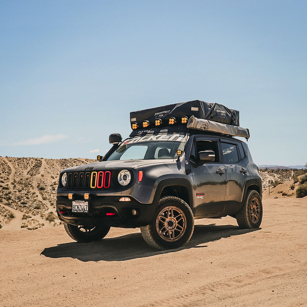 Jeep Renegade overland off-road modifications