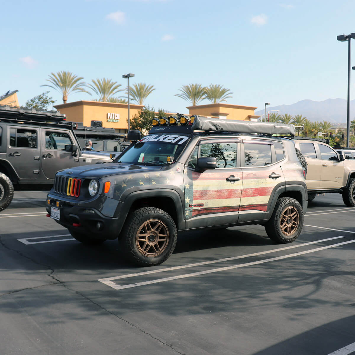 Small Lifted Jeep Renegade For Big Overland & Off-road Adventures