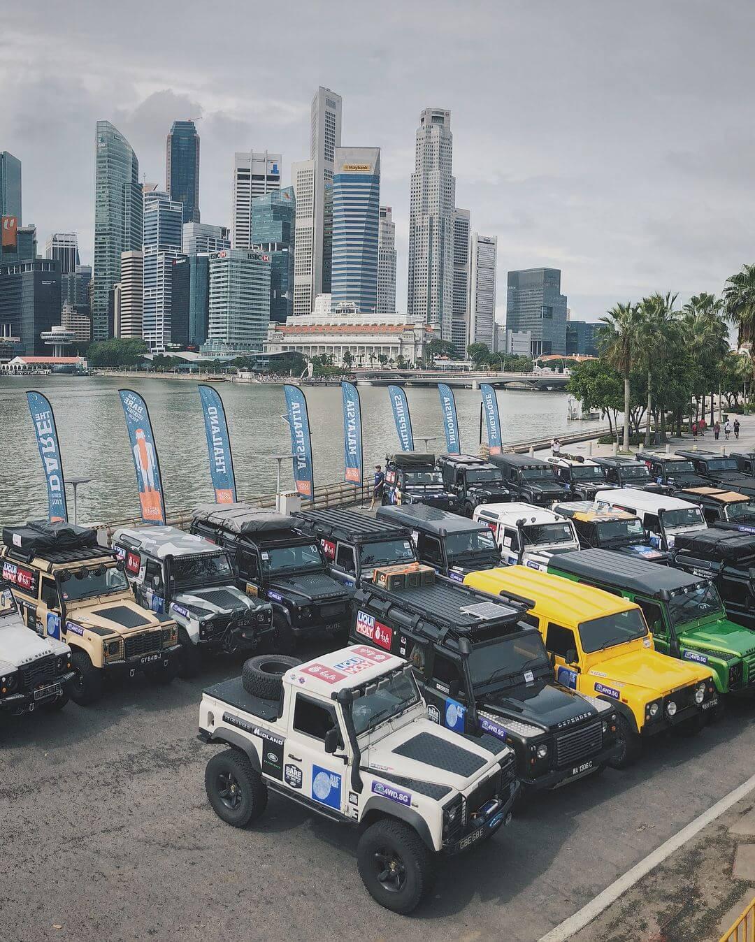 Land Rover Club Of Singapore Gathering