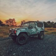 Lifted 2006 Land Rover Defender 90 on 33 inch tires