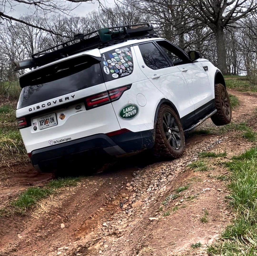 2018 Land Rover Discovery HSE diagonal test