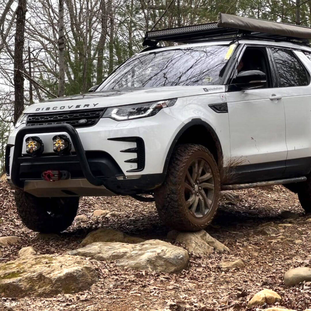 New land rover discovery 5 suspension lift