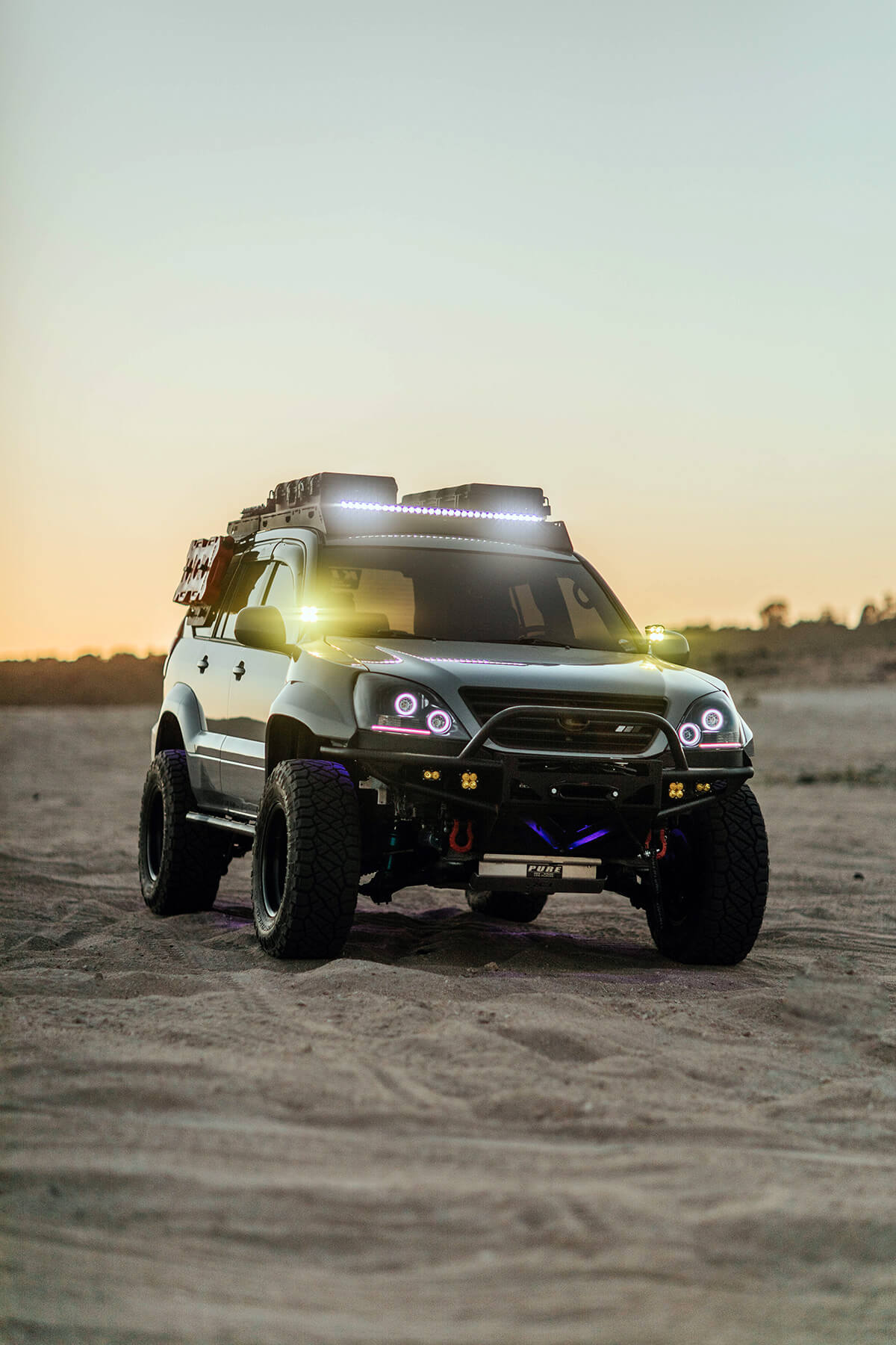"""2005 Lexus GX470 33 inch tires and a 3"""" lift"""