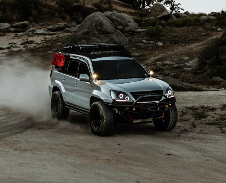 2005 Lexus GX470 33 inch M/T tires and off-road mods
