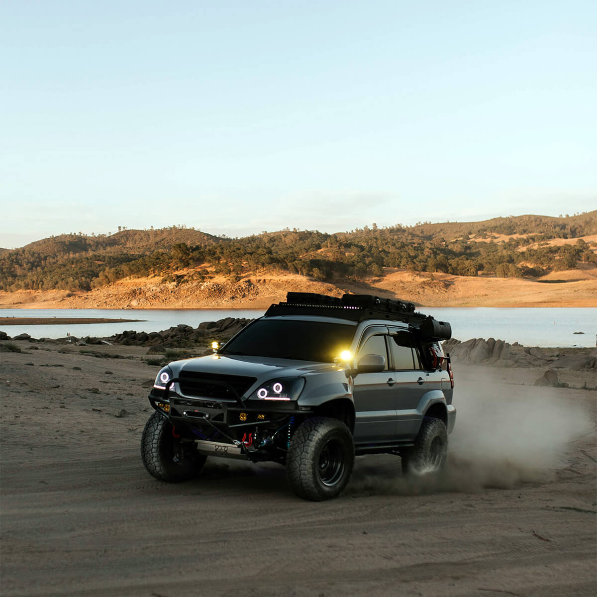 2005 Lexus GX470 offroading and modifications